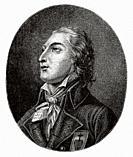 Portrait of Louis Marie de Lescure. Louis Marie de Salgues (1766-1793) Marquis de Lescure. French soldier and opponent of the French Revolution. Franc...
