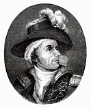 Portrait of François Athanase de Charette de la Contrie (1763-1796) French Royalist soldier and politician. He served in the French Royal Navy during ...