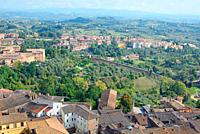 Siena and surroundings, city, natur,.
