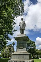 Monument to Sir George Grey (1812-1898) by Francis John Williamson. Albert Park. Auckland, North Island, New Zealand.