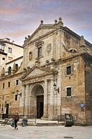 Iglesia de los Santos Juanes, bilbao, biscay, basque contry, euskadi, euskal herria, spain, europe.