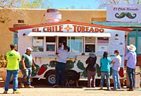 lunchwagon, New Mexico.
