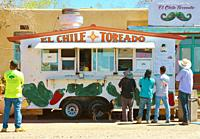 lunch wagon, New Mexico.