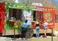 food truck, New Mexico.