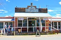 general store, Cerrillos, New Mexico. serving the community and tourist attraction.