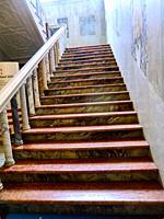 Villa Blanc, Interiors, Rome, Italy, Europe. It was built in 1848 by the Marquis Lorenzo Lezzani. Baron Alberto Blanc (1835-1904). University campus o...
