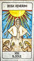 Sun, Medieval tarot cards.