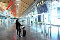 Madrid Barajas Adolfo Suárez Airport, terminal 4 Spain