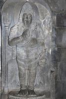 Statue of Agastya in Shiva Temple, Prambanan Temple, Yogyakarta, Central Java, Indonesia.