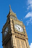 House of Parliament and Big Ben, London, England.