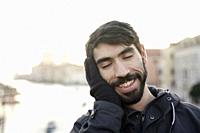 Turkish man in Venice, Italy.