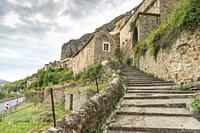 Peyre, old village near Millau Aveyron, Midi-Pyrenees, France.