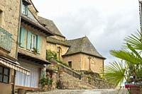 Estaing Midi Pyrenees Aveyron France, the village is one of the prettiest villages in France.