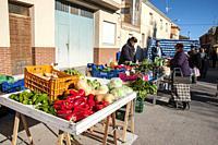 Traditional market, Alpera, Albacete