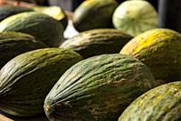 Melons Almansa Market. Albacete
