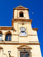 Tower clock made by Fernando de Tapia in 1803, with the originality of pointing out the lunar phases. The municipal palace, seat of the town hall, is ...