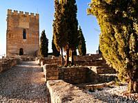 Tower of Homage of the Alcázar. Castillo de Alcalá la Real, or Fortaleza de La Mota, is a castle in Alcala la Real. It is a defensive enclosure, it da...