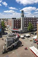 Oberhausen, Sterkrade, Germany, Oberhausen, Oberhausen-Sterkrade, Ruhr area, Lower Rhine, Rhineland, North Rhine-Westphalia, NRW, Sterkrade downtown, ...