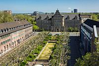 Oberhausen, Alt-Oberhausen, Germany, Oberhausen, Alt-Oberhausen, Ruhr area, Lower Rhine, Rhineland, North Rhine-Westphalia, NRW, Friedensplatz, reside...