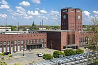 Oberhausen, Alt-Oberhausen, Germany, Oberhausen, Alt-Oberhausen, Ruhr area, Lower Rhine, Rhineland, North Rhine-Westphalia, NRW, central station at th...