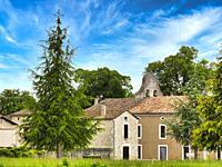 village of Razac d Eymet, Dordogne Department, Nouvelle Aquitaine, France.