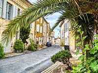 Rue du 8 Mai 1945, Sainte-Bazeille, Lot-et-Garonne Department, Nouvelle Aquitaine, France.
