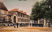 hospice de rebais, postcard 1900.