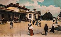 epinal, the station,.