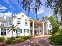 The Christy Payne Mansion at Marie Selby Botanical Gardens in Sarasota Florida USA.