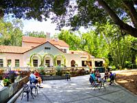 The Selby House at Marie Selby Botanical Gardens in Sarasota Florida.