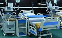 Assam Chief Minister Himanta Biswa Sarma (Unseen) inaugurates 300-bedded hospital to treat COVID-19 coronavirus patients at Indira Gandhi Stadium in G...