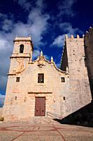 Church of the Ermitana. Peñíscola.