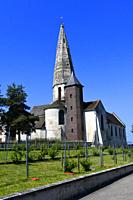 St. Martin's church in Sartrouville, Yvelines, France.