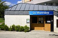 Maison de quartier La Marinière, Sartrouville, Yvelines, France.