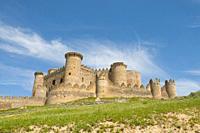 Castle. Belmonte, Cuenca province, Castilla La Mancha, Spain.