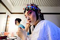 Chinese Opera backstage (Lisbon).