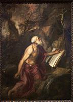 Titian (Tiziano Vecellio). The Penitent Saint Jerome. ca. 1575. Oil on canvas. 137 x 97 cm.