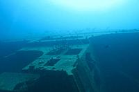 The Hilma Hooker is a chipwreck in the Caribbean sea around Bonaire, Netherland Antilles.