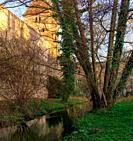 Tower, water tower, wall, city wall, brick wall, brick, historical building, canal, Lech Canal, UNESCO, UNESCO world heritage, world heritage monument...