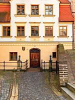 Brunnenmeisterhaus, water tower, red gate, city wall, clinker wall, brick wall, wall, city wall, place of interest, historical place of interest, plac...