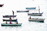 Salvador de Bahia (Sao Salvador de Bahia do Todos os Santos), fishermen. Brazil.