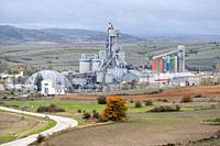 cement factory, Mataporquera, Cantabria, Spain.