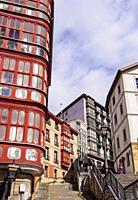 Calzadas de Mallona in Bilbao, Biscay, Basque Country, Spain.