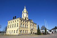 The town hall of Hamina, Finland.