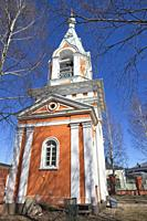 Orthodox church of St Peter and St Paul in Hamina Finland.