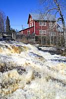 The Joutsenkoski flour mill in Lappeenranta, Finland.