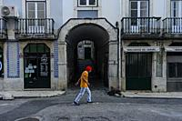 Lisbon streets, Portugal.