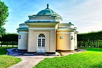 Summer Pavilion Pushkin Tzarskoe Selo Russia.