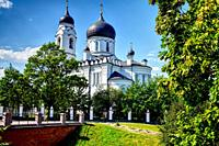 Old Russian Orthodox Church. Lomonosov Russia.