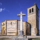 It was founded by the Knights Templar in the 13th century, and is a singular church in the Romanesque style with a floor plan in the shape of a 12-sid...